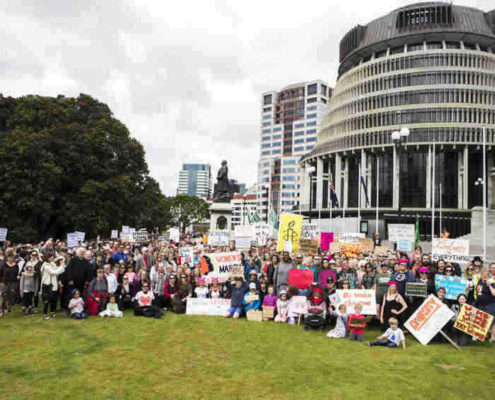 Poneke Wellington Women's March January 2017