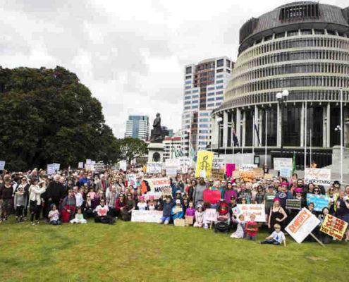 Poneke Wellington Women's March January 2017
