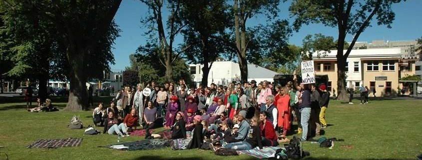Dunedin resisters International Women's Day 2017