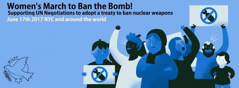 Ban the Bomb Solidarity Hīkoi