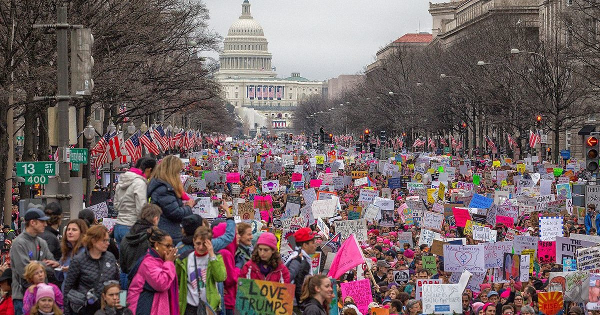 Women's March on Washington 2017