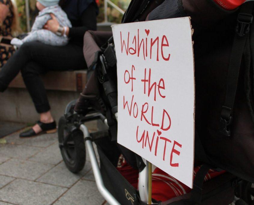 Wahine of the World Unite Representation Womens March Aotearoa New Zealand
