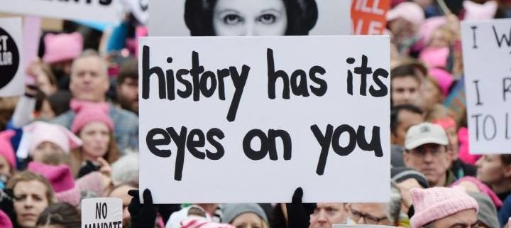 History has It's Eyes on You