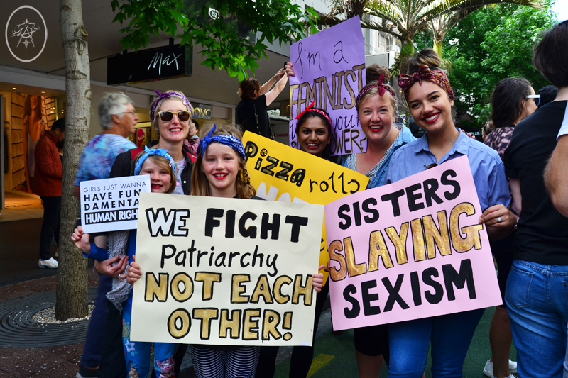 Women's March Auckland by Devel | Women's March Aotearoa New Zealand