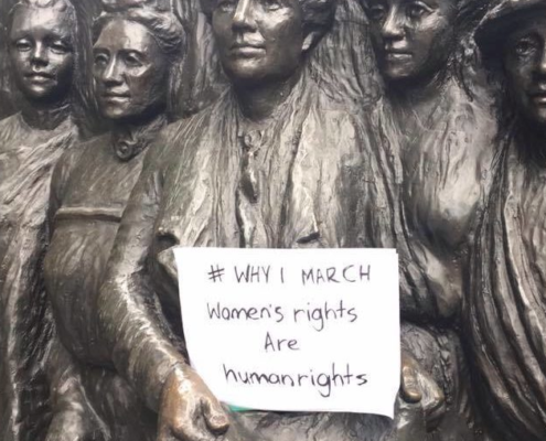 #WhyIMarch Kate Sheppard